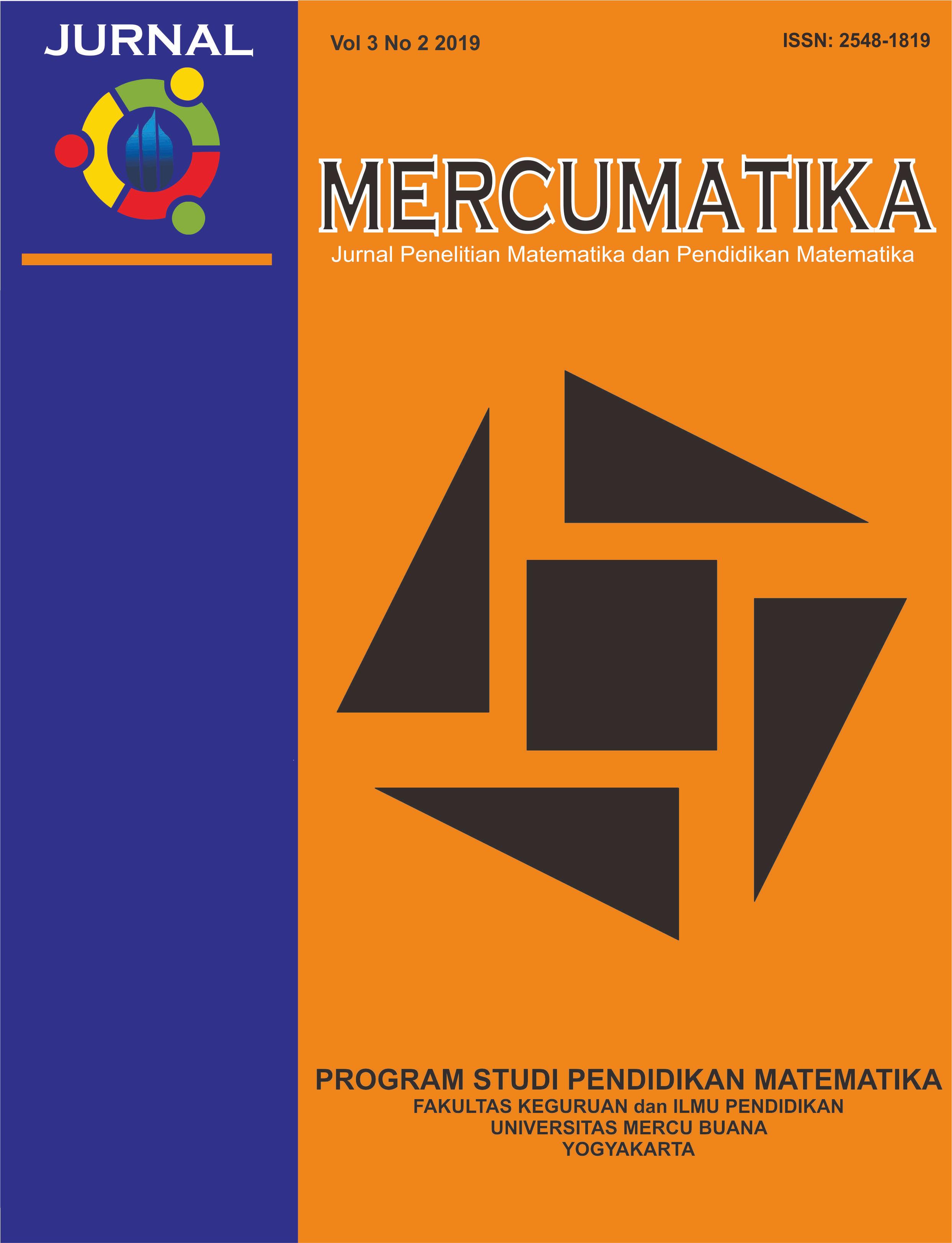 Jurnal Mercumatika Jurnal Penelitian Matematika Dan Pendidikan Matematika